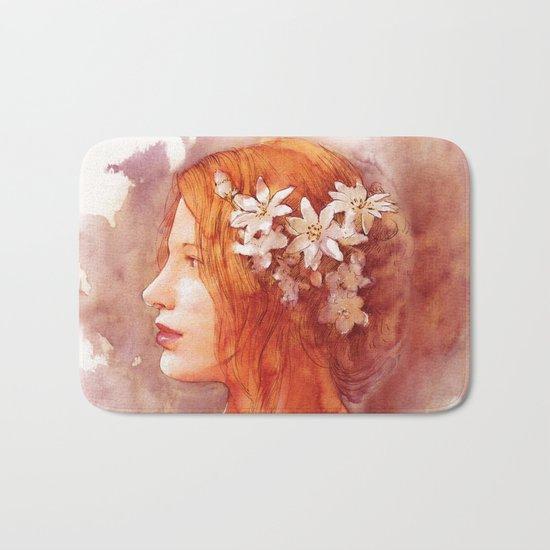 Flower scent Bath Mat