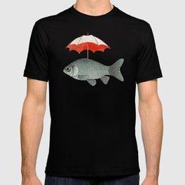 Umbrella Goldfish T-shirt