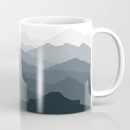 Silver Dew Mountains Coffee Mug