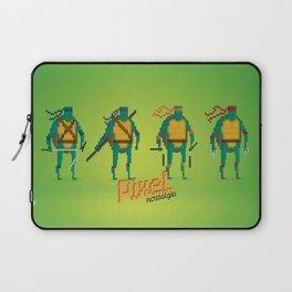 Ninja Turtles - Pixel Nostalgia Laptop Sleeve