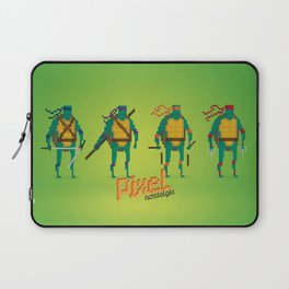 Ninja Turtles - Pixel Nostalgia Laptop Sleeve
