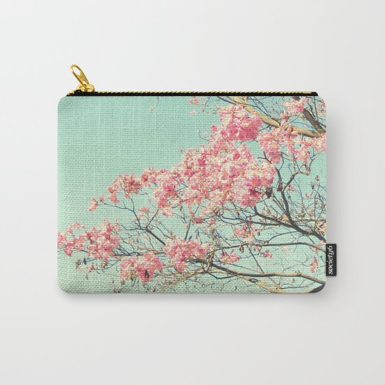 Spring Kissing the Sky Carry-All Pouch