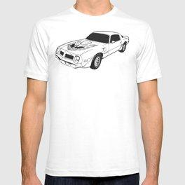 1976 Pontiac Firebird Trans Am T-shirt