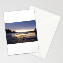 New Zealand Beach Sunrise Stationery Cards