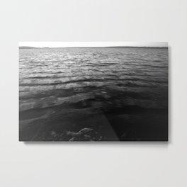 The Ocean is Calling Metal Print