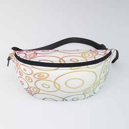 Beautiful Colored Circles Fanny Pack