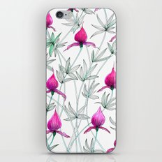 small purple flowers iPhone & iPod Skin