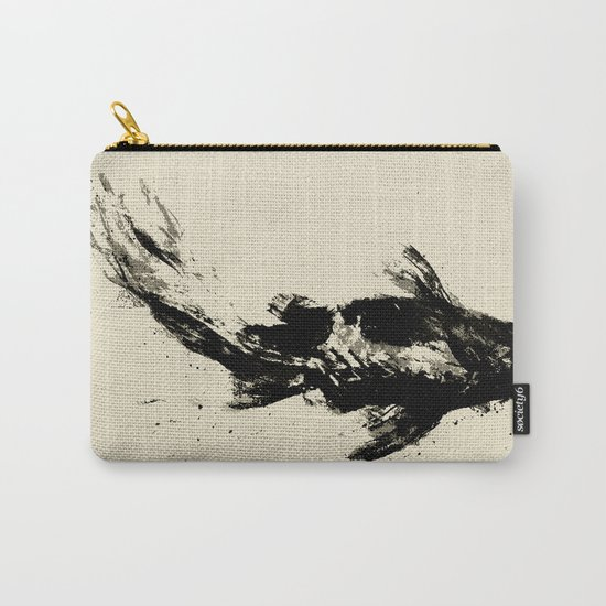 Black Koi Carry-All Pouch