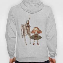 Dorothy and the Tin Man Hoody