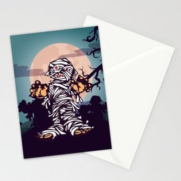 Hallow Zombie Stationery Cards
