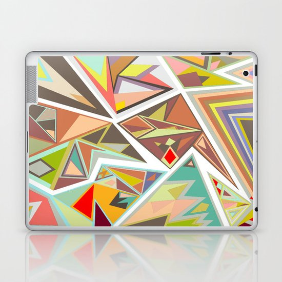Shattered Glass Laptop & iPad Skin