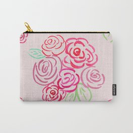Glorious Rose bunch Carry-All Pouch