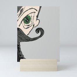 el mustachio Mini Art Print