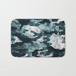 Surfing Camouflage #2 Bath Mat
