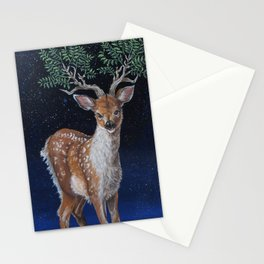 Cosmic Fawn Stationery Cards