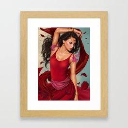 Esmeralda Framed Art Print