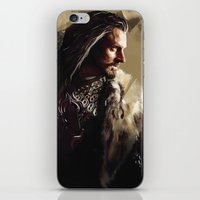 thorin iPhone & iPod Skins featuring Thorin by Wisesnail