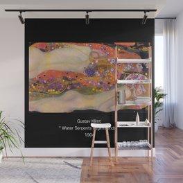 "Gustav Klimt, "" Water Serpents II "" Wall Mural"