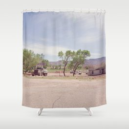 Truck and Helicopters Shower Curtain