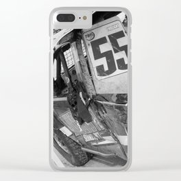 Track Noir TORC #9 Clear iPhone Case