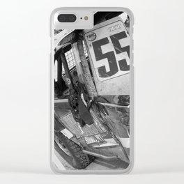 Track Noir TORC #9 Clear iPhone Case