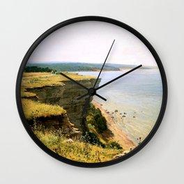 "Ivan Shishkin ""Off the coast of the Gulf of Finland (Udrias near Narva)"" Wall Clock"