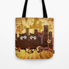 Grossstadteulen Tote Bag