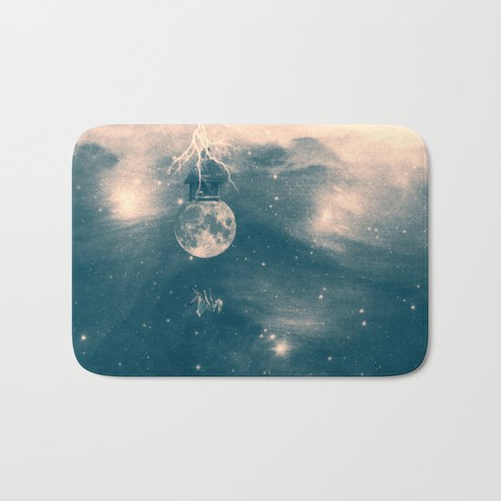 One Day I Fell from My Moon Cottage... Bath Mat