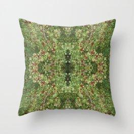 Hawthorn B Fractal Side Throw Pillow