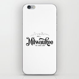 Milwaukee iPhone Skin