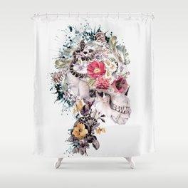Momento Mori X Shower Curtain