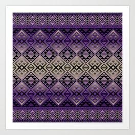 The Lodge (Purple) Art Print