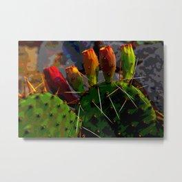 Prickly Pear Metal Print