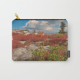 Dolly Sods Ruby Rockscape Carry-All Pouch