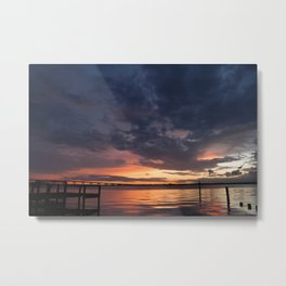 Painted Skies in Cape Coral Metal Print