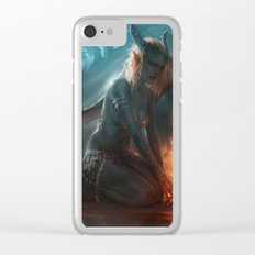 Succubus Clear iPhone Case