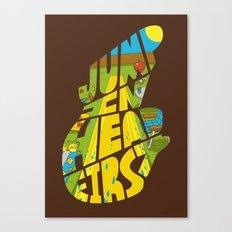 Jump In Head First Canvas Print