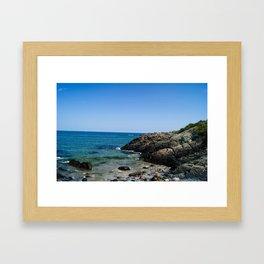 Marginal Way, Maine Framed Art Print