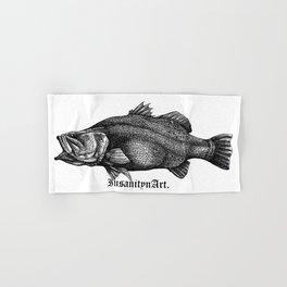 InsanitynArt's Special Barramundi Illustration Monster Hunter. Hand & Bath Towel