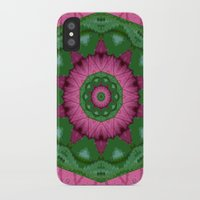 burgundy iPhone & iPod Cases featuring Burgundy by IowaShots