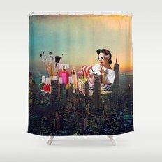 Urban Camouflage Shower Curtain
