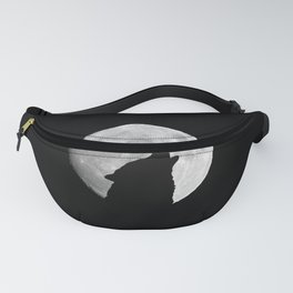 The wolf howls at the moon Fanny Pack