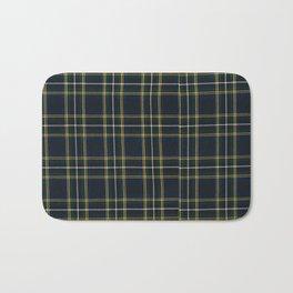 Blue Tartan pattern  Bath Mat