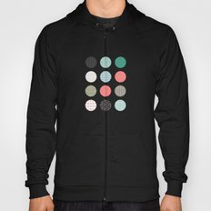 Patterned Dots Hoody