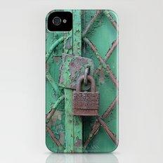 Rusty Lock Slim Case iPhone (4, 4s)