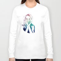 britney Long Sleeve T-shirts featuring BRITNEY by Devon Jack
