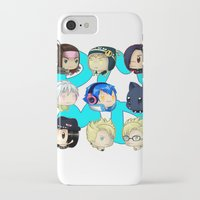 dmmd iPhone & iPod Cases featuring DMMD- chibis by prpldragon