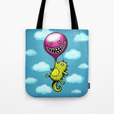 BubbleCroco Tote Bag