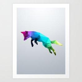 Glass Animal - Flying Fox Art Print