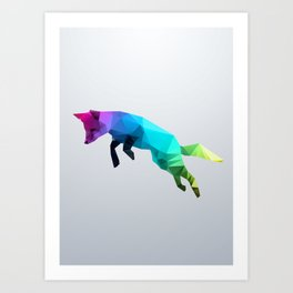 Glass Animal - Flying Fox Art Print